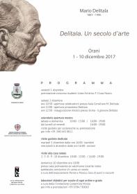 MARIO DELITALA - UN SECOLO D'ARTE - ORANI DAL 01 AL 10 DICEMBRE 2017