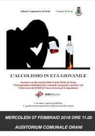 L'ALCOLISMO IN ETA' GIOVANILE